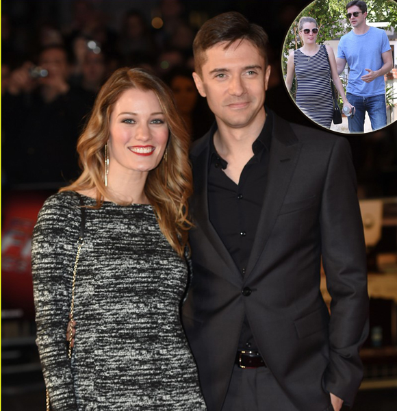 Ashley Hinshaw is Expecting Her First Child with her Husband Topher Grace