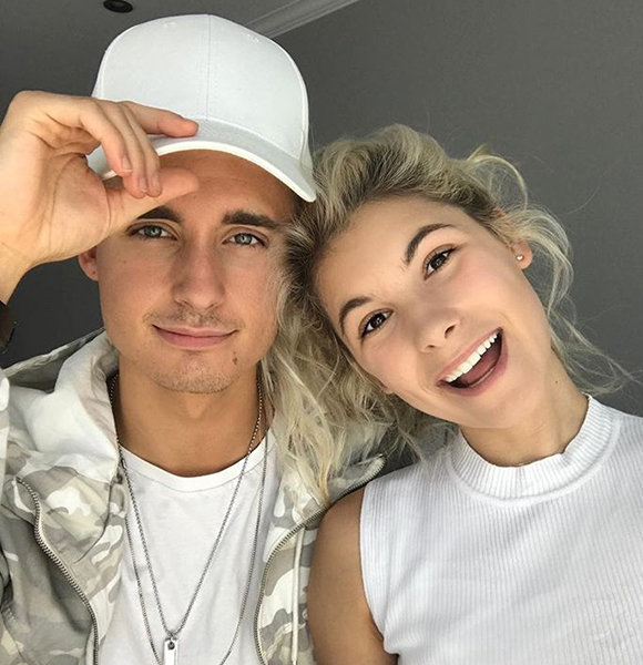 Christian Collins is Not Gay! He's Affair with Girlfriend at 21 Proves It
