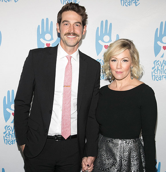 Here's How Dave Abrams & Jennie Garth Saved Their Married Life