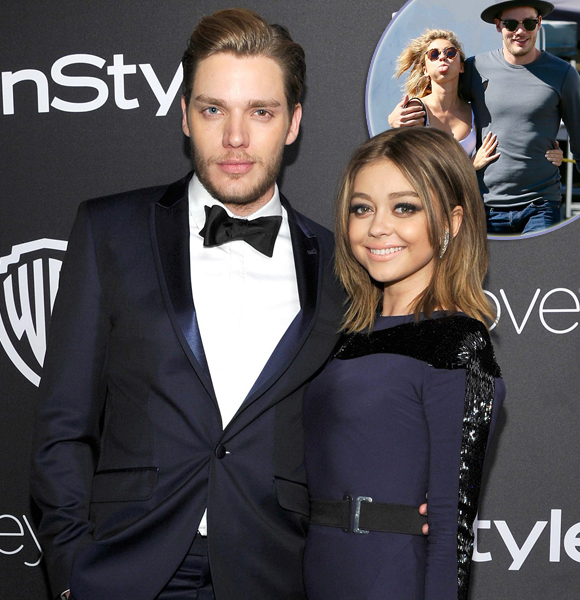 Sarah Hyland and Wells Adams have been dating
