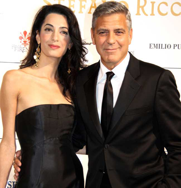 Parental Bliss! George Clooney Welcomes Twins With Wife Amal Clooney