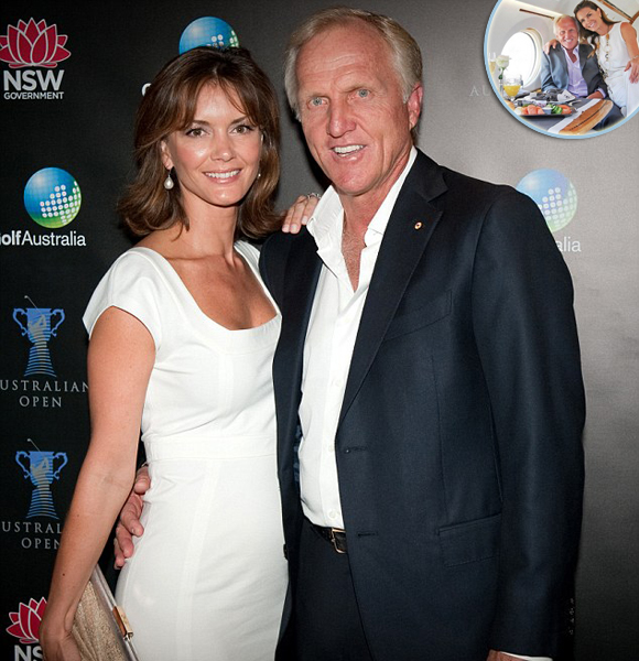 Greg Norman Third Married Life Is Extragavent! A Man With Wife and Family Showing Off Good Shape