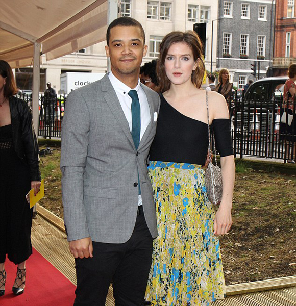 Image result for Jacob Anderson and Aisling Loftus.