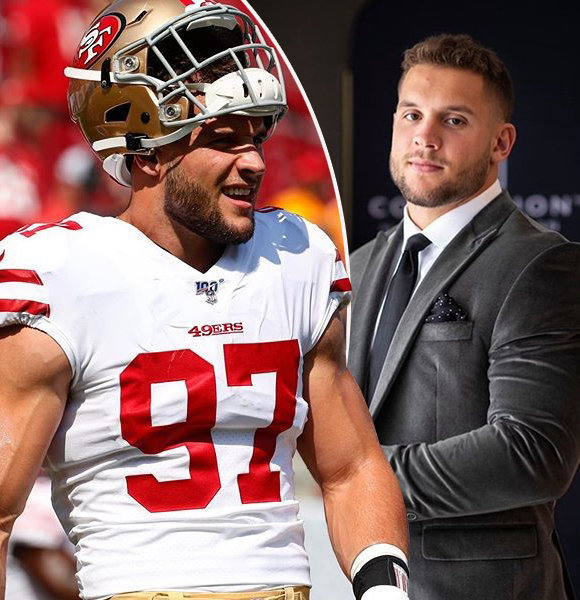 NFL Star Nick Bosa Personal Life Insight & Family Background