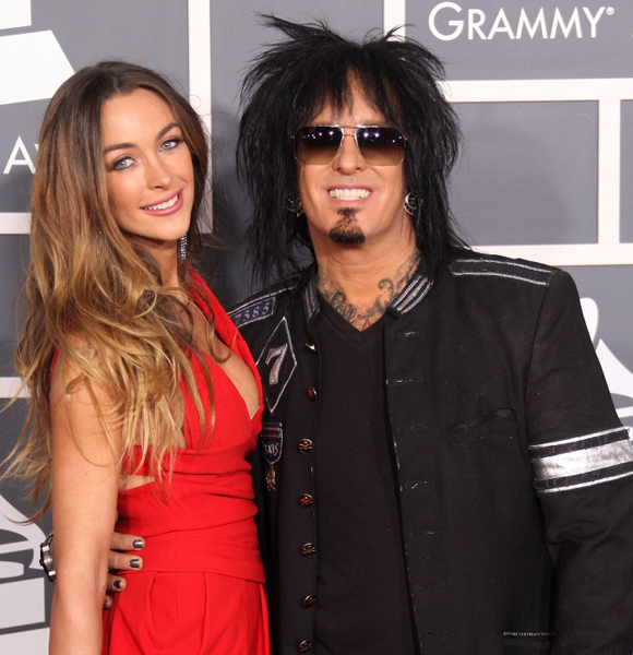 Nikki Sixx Found Luck The Third Time With Wife; Looks After Kids From Past Married Life - Especially Daughter