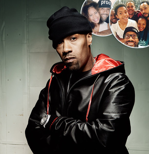 Redman: Low-Key Married Life, Family With Wife