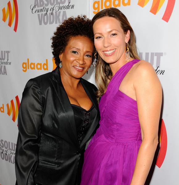 Wanda sykes husband david hall photos