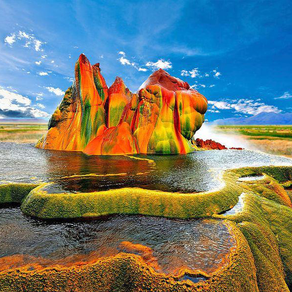 Top 5 Colorful Places On The Planet Will Blow Your Mind