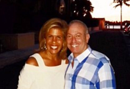 Caption: Hoda Kotb shared this pic on The Today Show