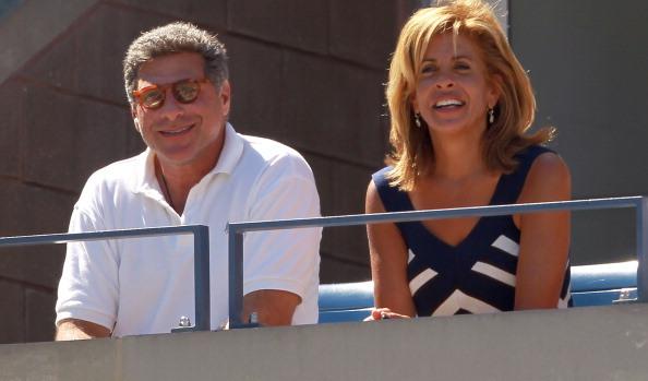 Hoda and her ex-husband Burzis Kanga