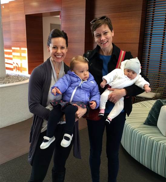 NBC News' Jenna Wolfe and Her Lesbian Girlfriend Stephanie Gosk. Not yet Married But Have 2 Children