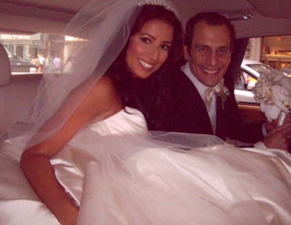 Fox News Reporter Julie Banderas with husband Andrew Sansone