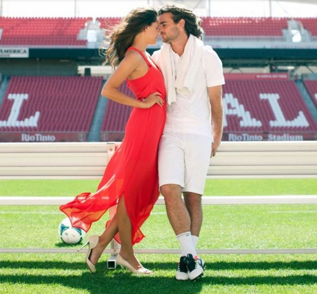Kyle Beckerman Thinking About Children With His Hot Wife Kate Pappas!?