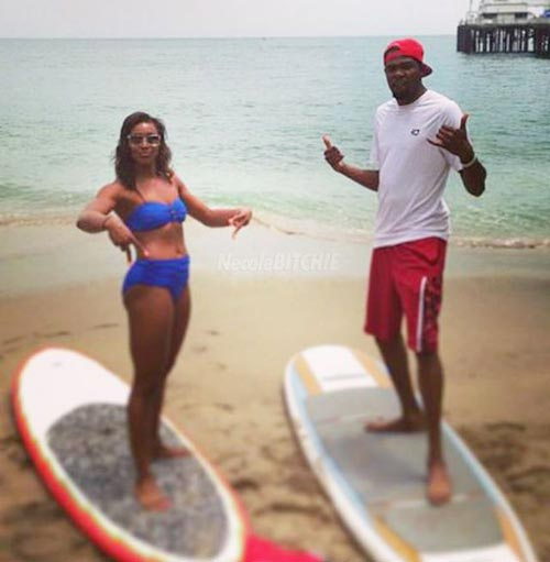 Monica wright dating kevin durant