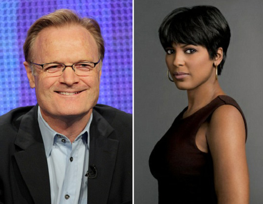 We are eagarly waiting to see Lawrence O'Donnell and Tamron Hall as husband and wife